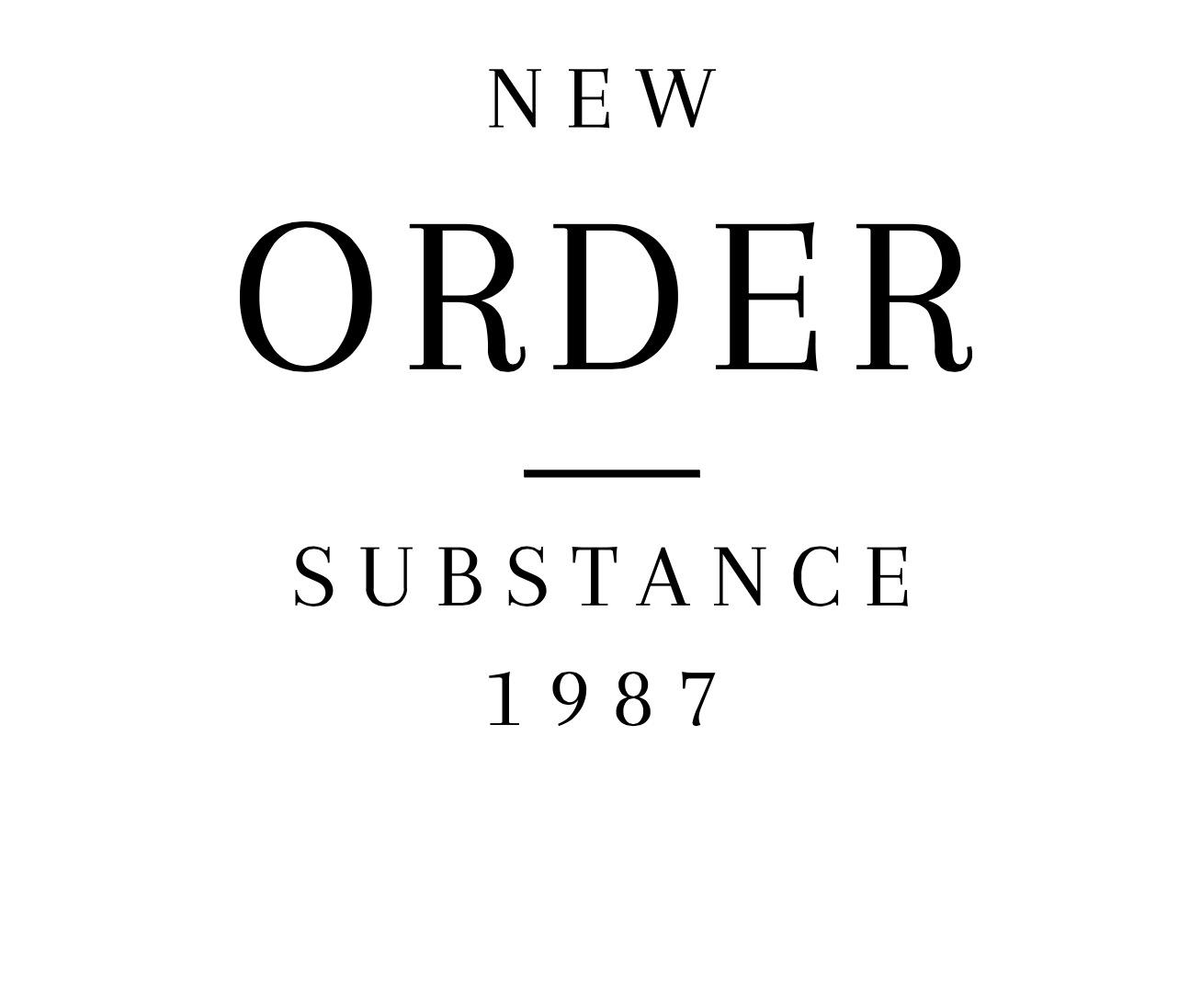 cd new order substance